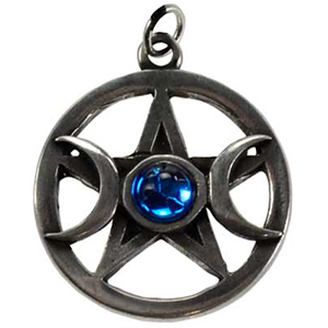 Pentagram & Moons Necklace