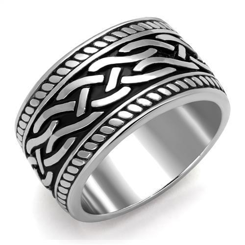 Celtic High polished (no plating) Stainless Steel Ring