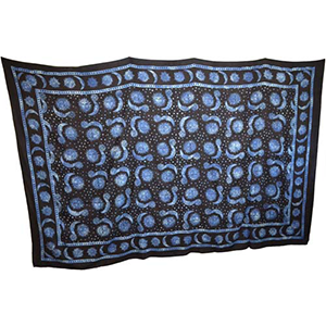 "Celestial tapestry 72"" x 108"" - Wiccan Place"