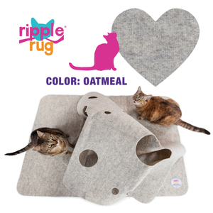 "THE RIPPLE RUG:   ""Cole & Marmalade"" are back - it's Meowverlous!"
