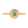 Round Space Turquoise Ring
