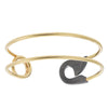 Safety Pin Dual Bracelet - XL
