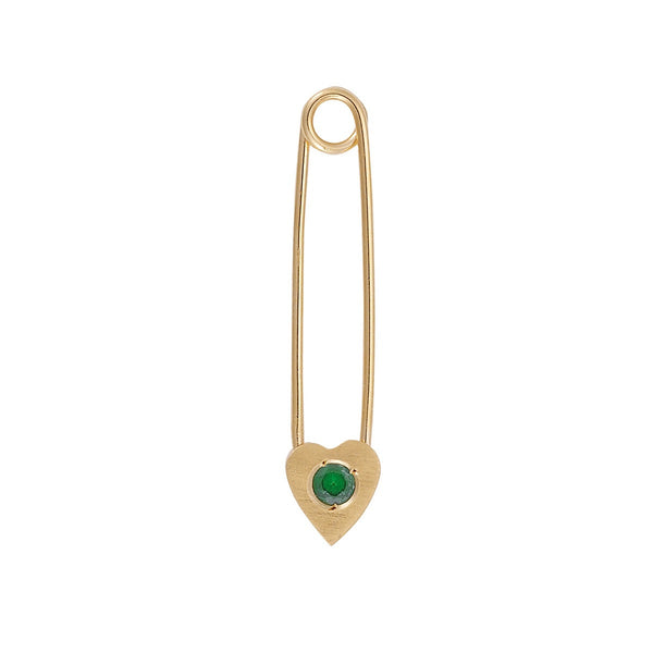 Safety Pin Heart Y-ts