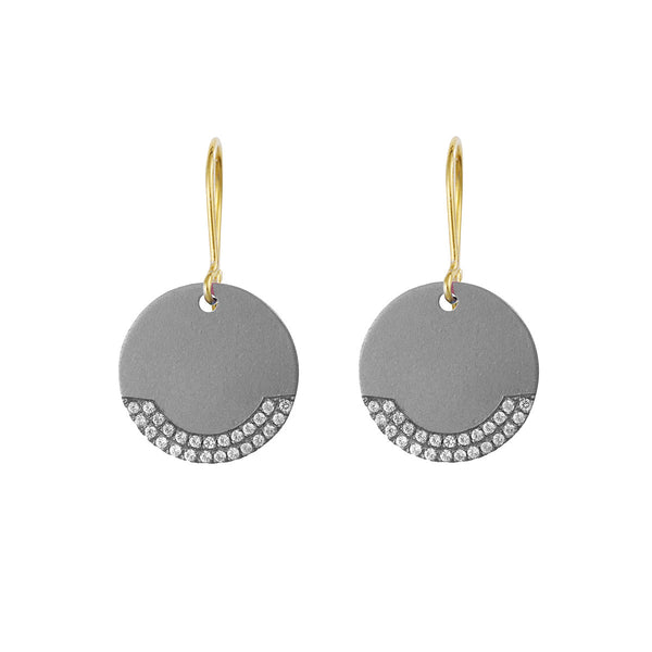 Titan Disc Earring - Small
