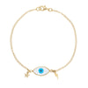 Evil Eye Thunder Star Bracelet