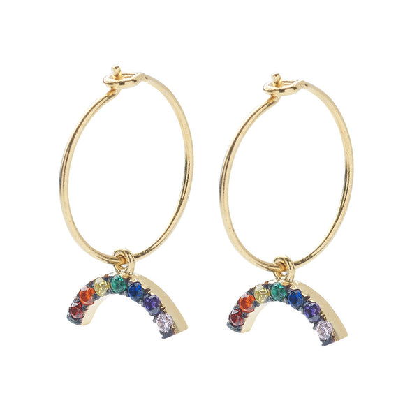 Mini Rainbow Hoops
