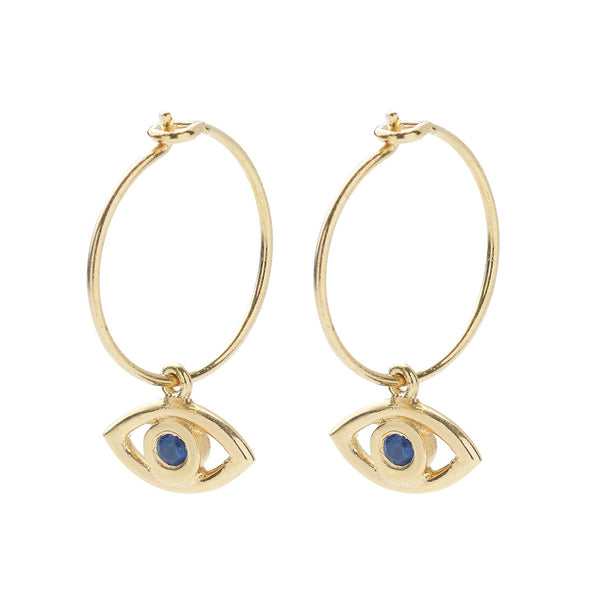 Mini Eye Hoops