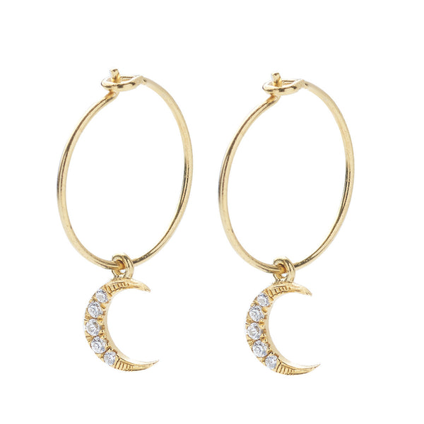 Mini Moon Hoops
