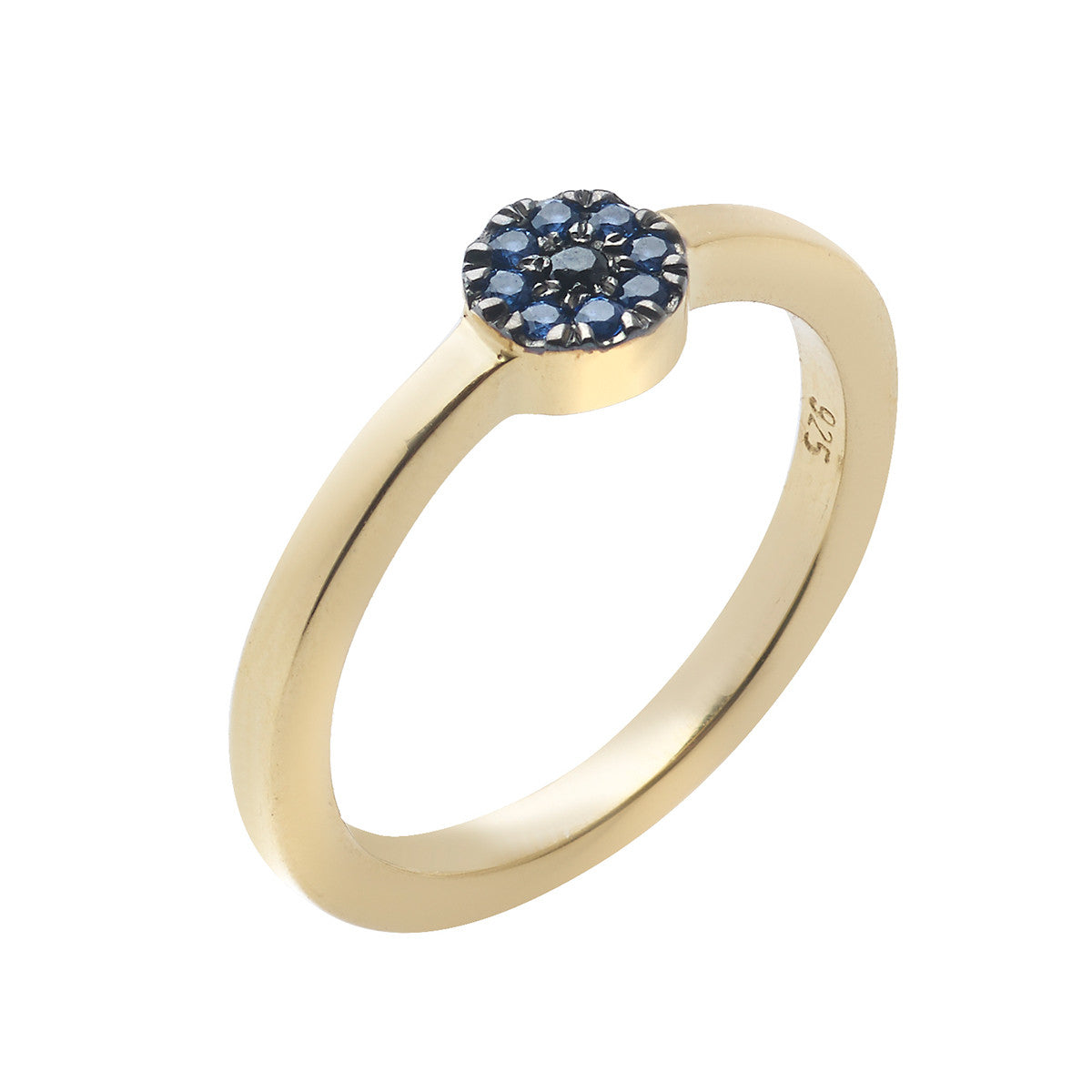 Mini Eye Ring - Blue