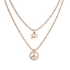 Peace Snake Treasure Necklace