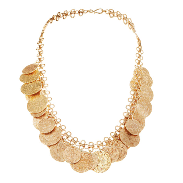 Treasure Coin Necklace BR-YP