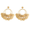 Venus Clam Treasure Hoops BR-SLV-YP