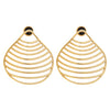 Clam Seashell Earrings BR-SLV-YP-S