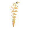 Cerith Seashell Earrings BR-SLV-YP-L