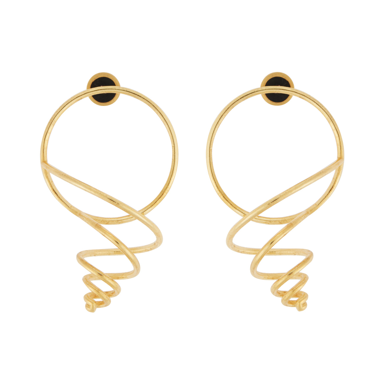 Baby Cerith Seashell Earrings BR-SLV-YP