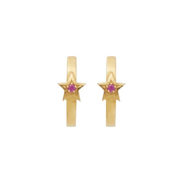 Star Mini Hoops