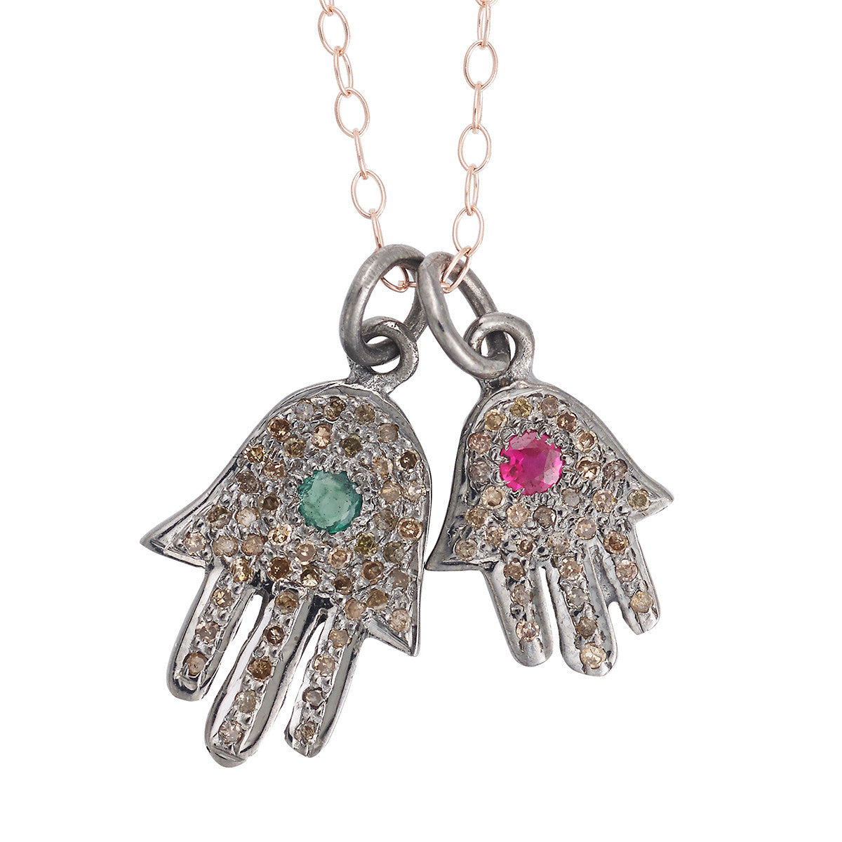 Fatima Hand Charms Necklace