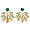 Jungle Leaf Earrings