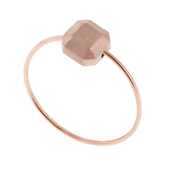 Little Square Gem Ring K10