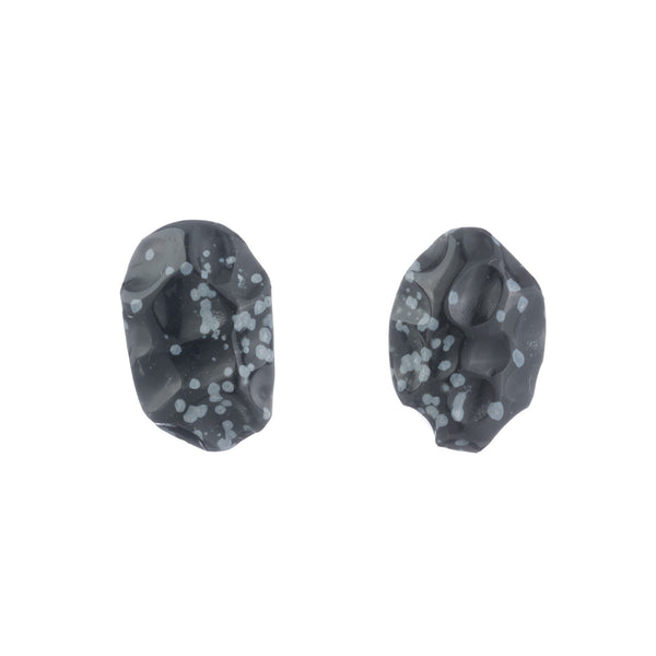 Snowflake Studs Slv-So