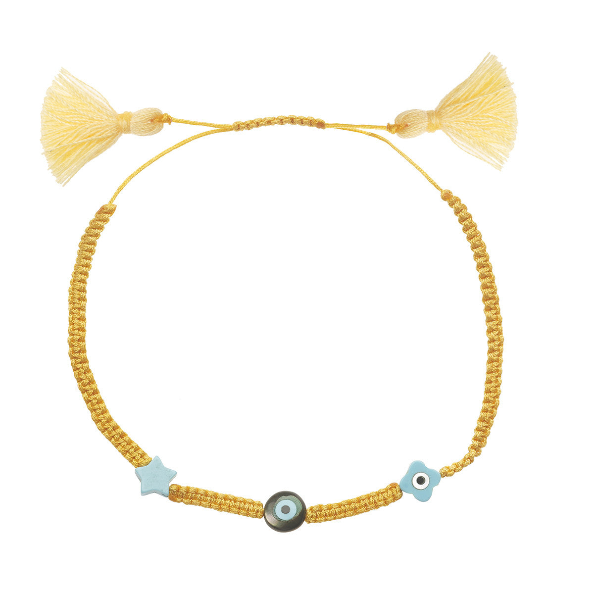 Summer Bracelet 25 Dark Yellow