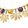 Tropical Leaves Necklace