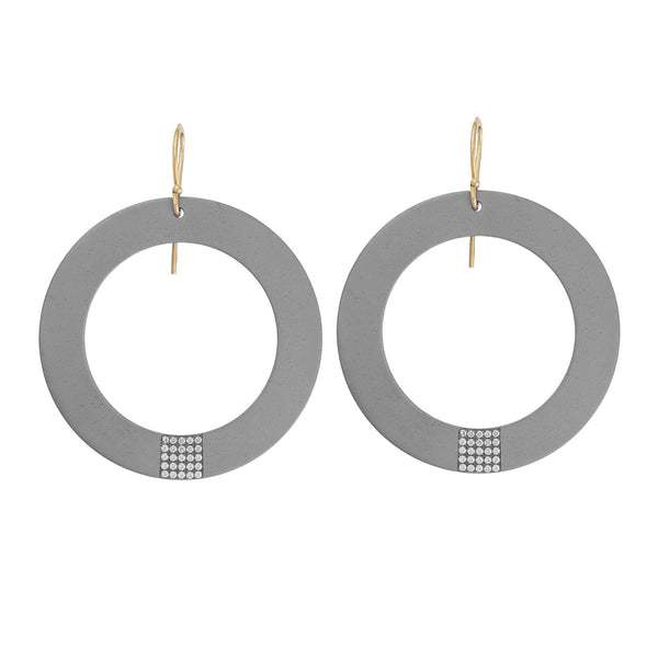 Hollow Sun Earrings
