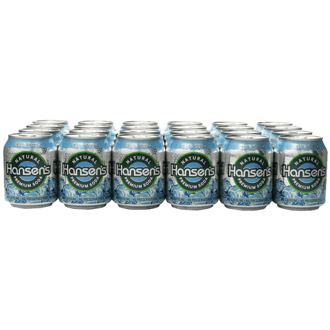 Hansen's Club Soda 8 Ounce Cans