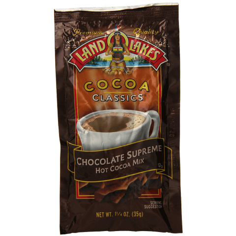 Land O Lakes Cocoa Classics Chocolate Supreme 1.25-Ounce Packets