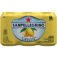 San Pellegrino Sparkling Fruit Beverages Limonata-Lemon