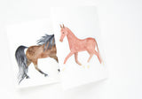 Choose Your Own Birthday Pony -- trifold birthday card