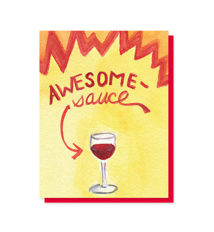 Awesomesauce Congratulations, Kudos Card