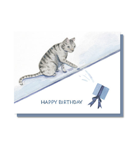 Birthday Cat Birthday Card