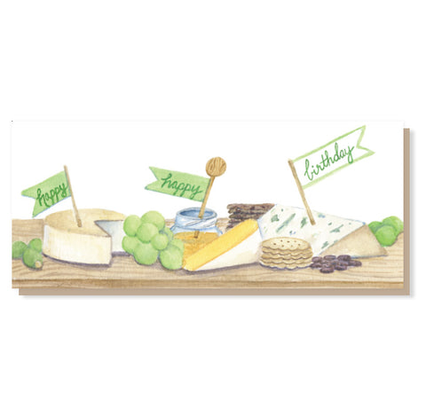 #9 Cheese Board Turophile Birthday Card