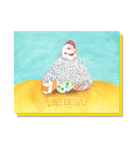 Birthday Hen Card