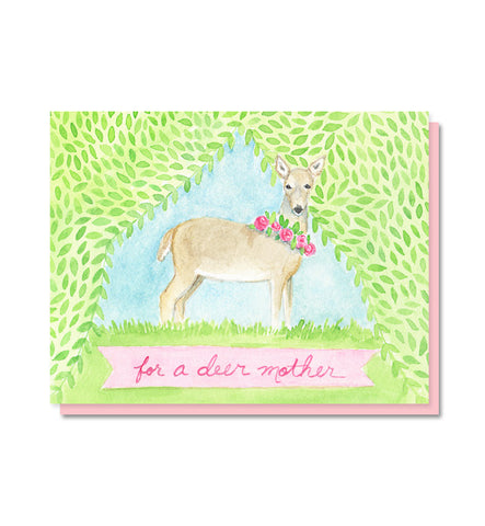 For a Deer Mother - Mother's Day Card