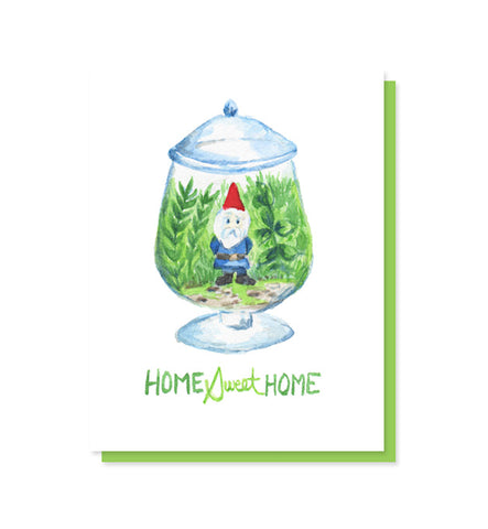 DISCONTINUED Home Sweet Home Gnome Card