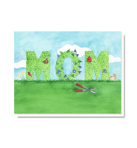 Mom Topiary Mother's Day Card