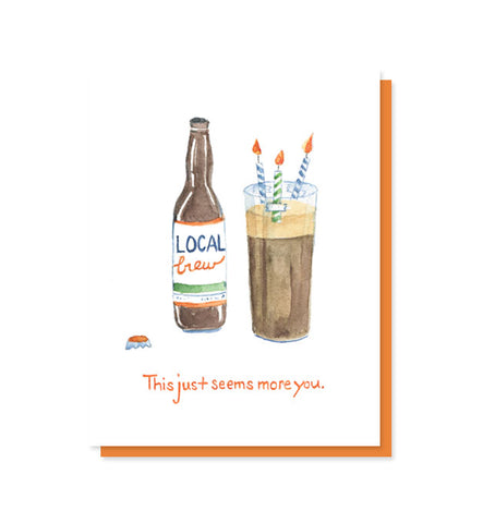 More You Craft Beer Birthday Card