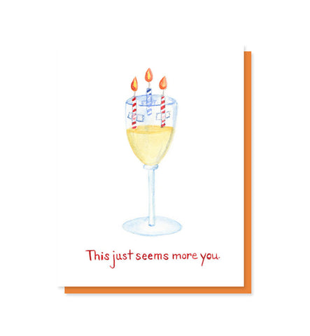 Wine Lover's Birthday Card