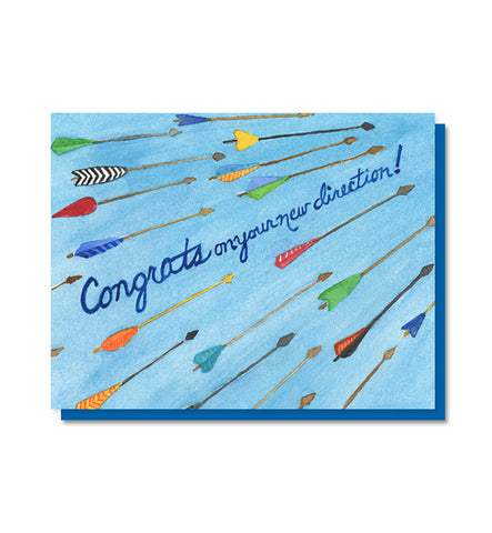 New Direction Congratulations Card