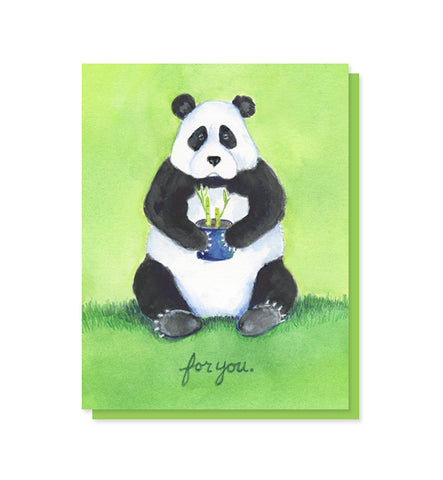 Panda Thank You Appreciation Card