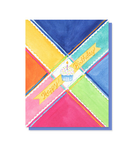 Plaid Birthday Card