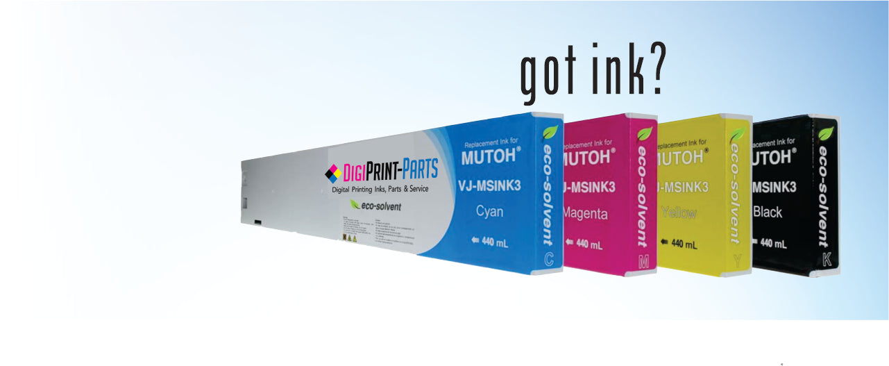 Mutoh Eco Solvent Ink