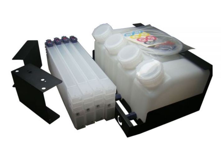 Roland, Mimaki Bulk System 4 color 4 cartridge without chip solution