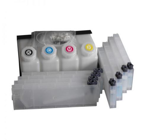 Bulk System 4 color 8 cartridge without chip solution