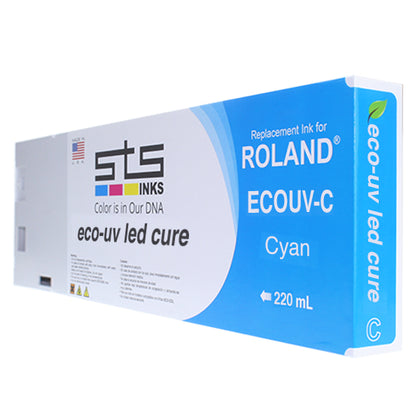 Roland Eco-UV / EUV Cartridges 220ML