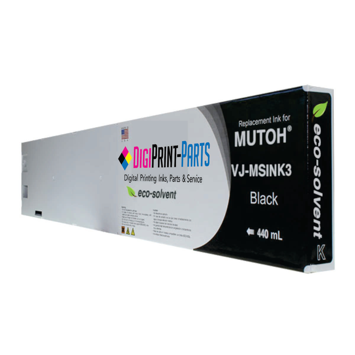 Mutoh Valuejet Eco-Ultra Ink 440ml Made in the USA