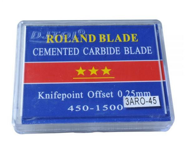 45-60 Degree Small SHK Roland Compatible Vinyl Cutter Blades, 3A Grade 5pcs/pack
