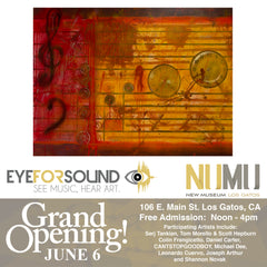 Eye For Sound Group Exhibit New Museum Los Gatos